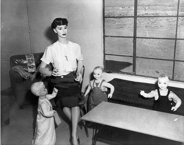 Dummies - Nuclear Test Site, Nevada 1953...